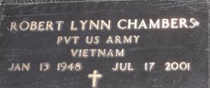 gravestone robert chambers